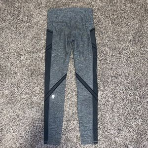 grey mesh ivivva leggings
